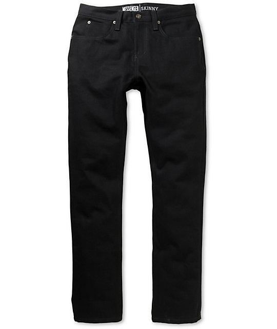 World Messenger Black Denim Super Skinny Jeans