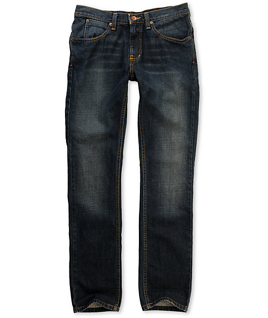 Free World Messenger Rinse Tint Skinny Jeans