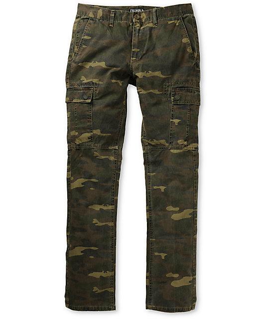 Free World Messenger Skinny Camo Cargo Pants at Zumiez : PDP