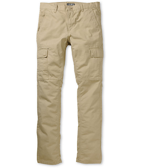 Free World Messenger Skinny Khaki Cargo Pants at Zumiez : PDP
