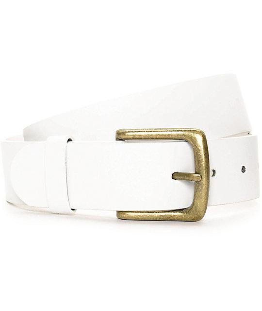 Free World Mingler White Belt