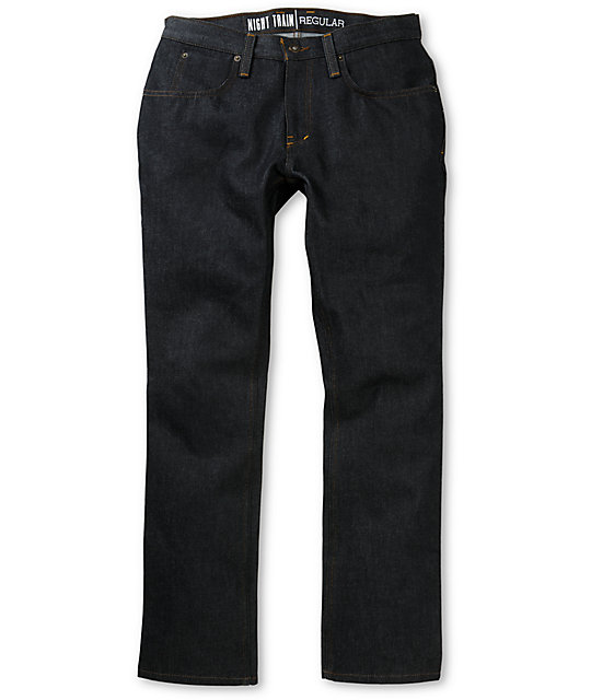 Free World Night Train Basic Blue Regular Fit Jeans