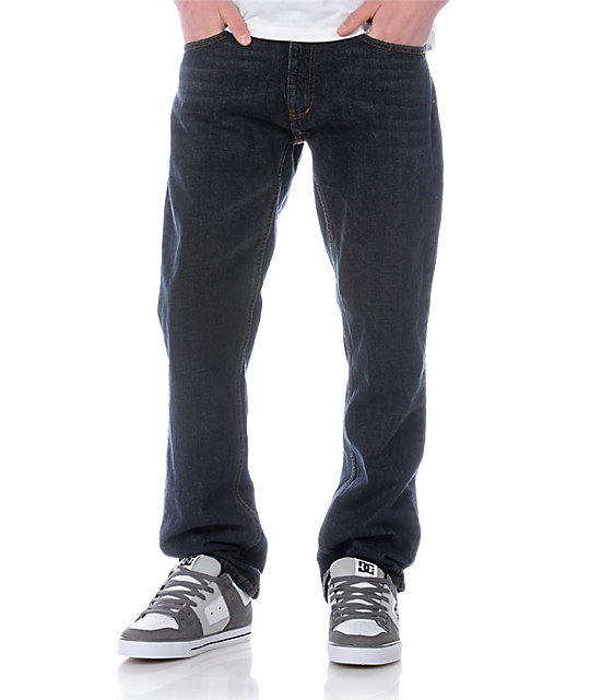Free World Night Train Dirt Wash Regular Fit Jeans