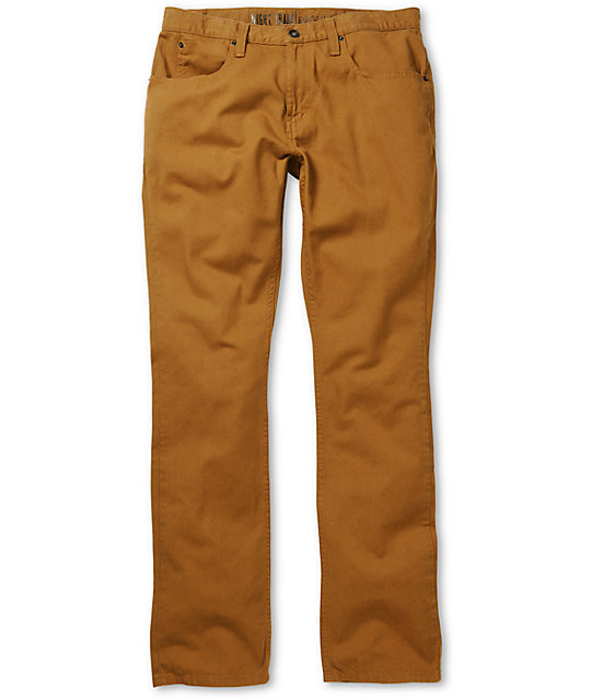Free World Night Train Regular Fit Twill Pants