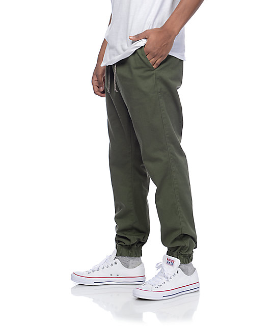 Free World Remy Olive Jogger Pants