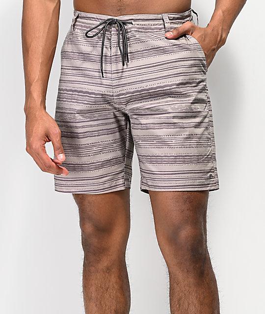 Spring De Shorts Híbridos En Caqui World Tide Baño Free E2IHYebD9W