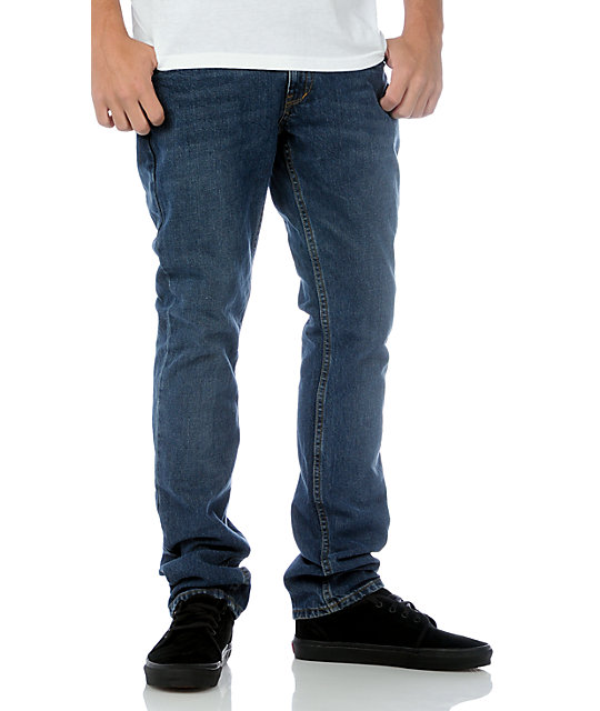 Free World Zeke Fit Medium Blue Denim