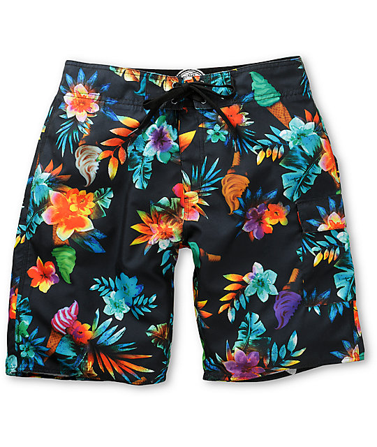 Free World Zuma Beach Board Shorts