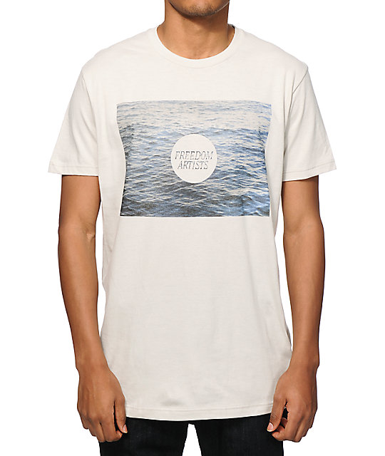 Freedom Artists at Sea T-shirt