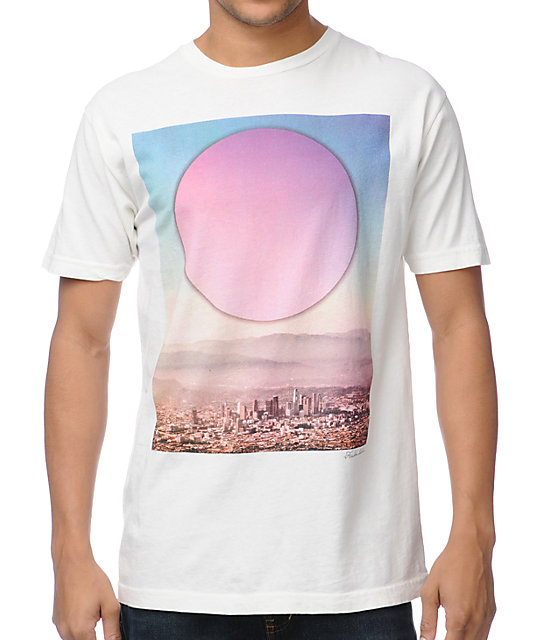 Freedom Artists Circle LA White T-Shirt