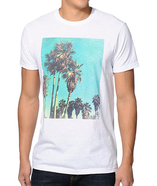 Freedom Artists LA Palms White T-Shirt