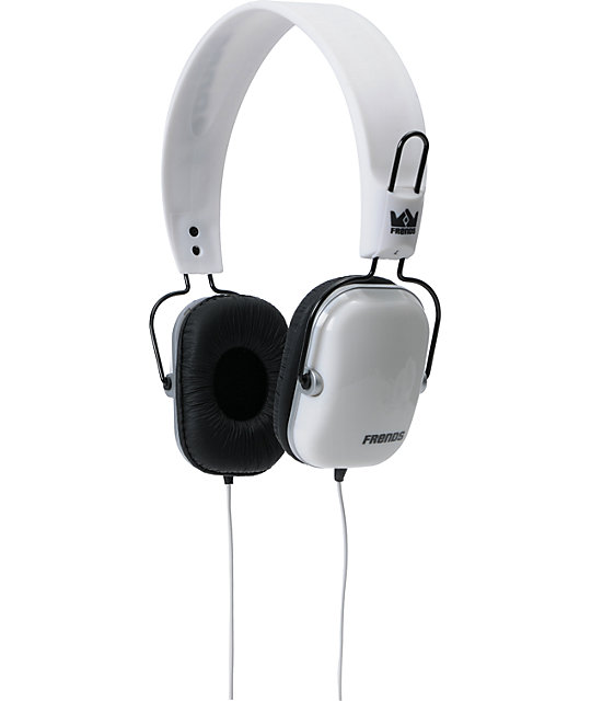 Frends The Light Wire White Headphones