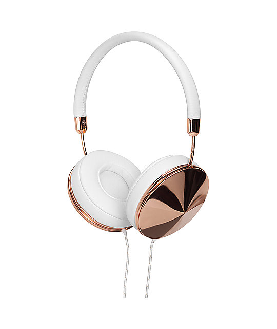 Frends The Taylor Rose Gold & White Over Ear Headphones