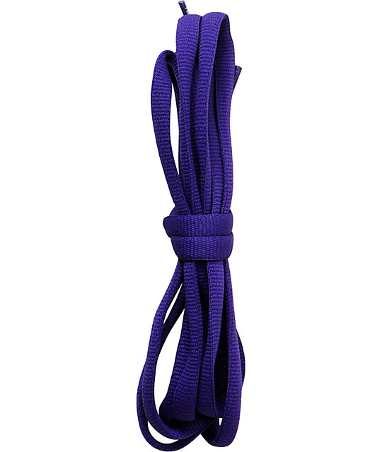 Fully Laced 48 Royal Purple Shoe Laces