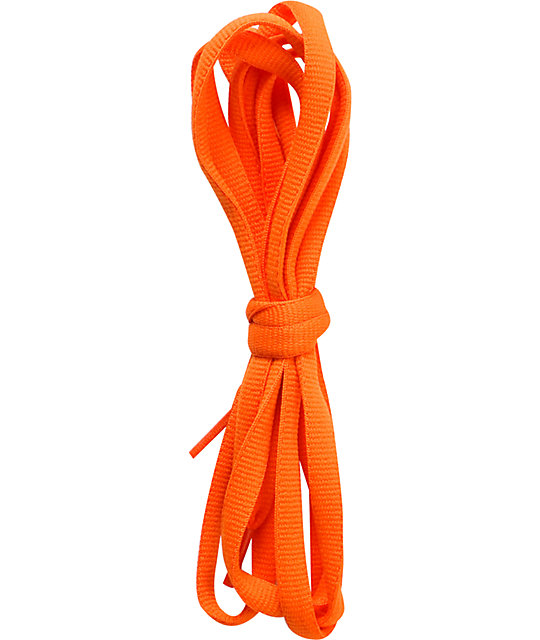 Fully Laced 48 Safety Orange Shoe Laces