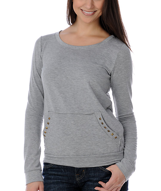 Funky Story Fatal Attraction Grey Top