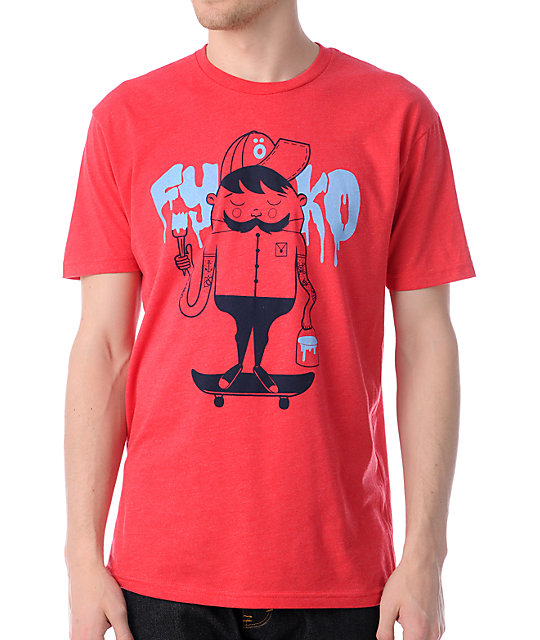 Fyasko Paint Bob Red T-Shirt