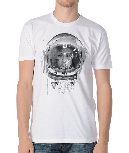 Fyasko Space Travel White T-Shirt