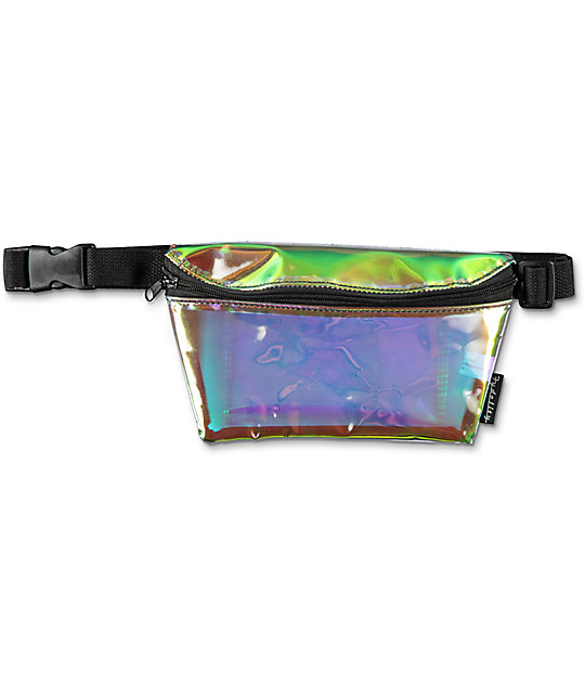 Fydelity Interplanetary Plasma Chrome Fanny Pack