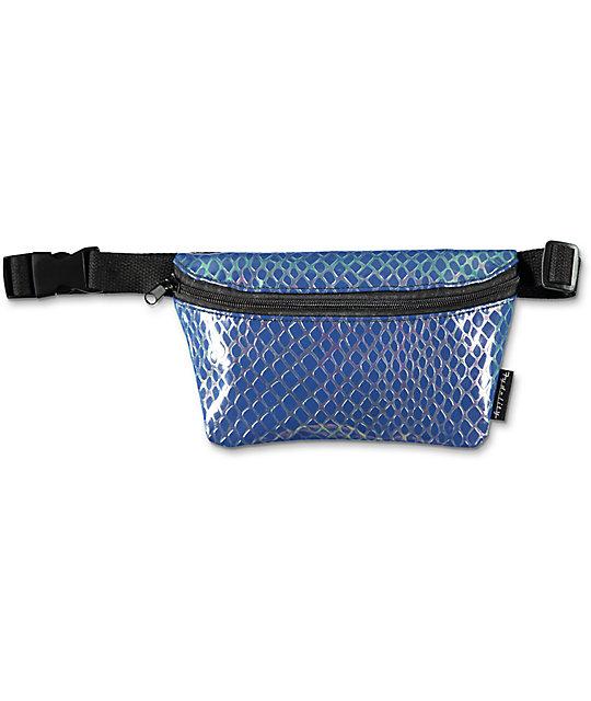 Fydelity Mermaid Blue Fanny Pack
