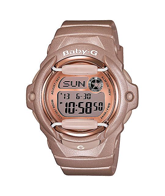 G-Shock BG169G-4 Baby-G Champagne Pink Watch