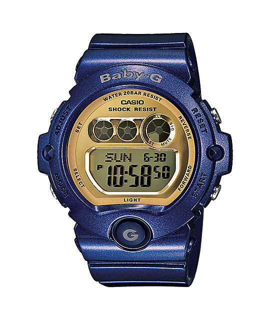 G-Shock BG6900-2 LTD Baby-G Mirror Blue Watch