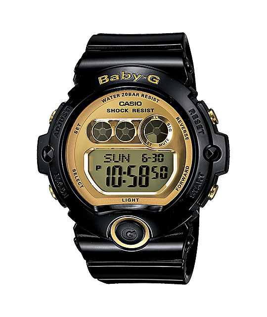 G-Shock BG6901-1 Baby-G Black & Gold Watch