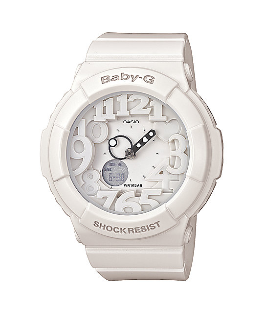 G-Shock BGA131-7B Baby-G White Watch