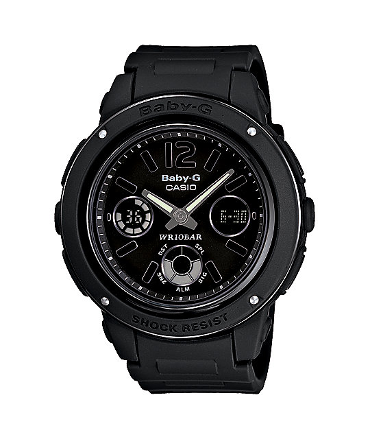 G-Shock BGA151-1B Baby-G Big Face Black Watch