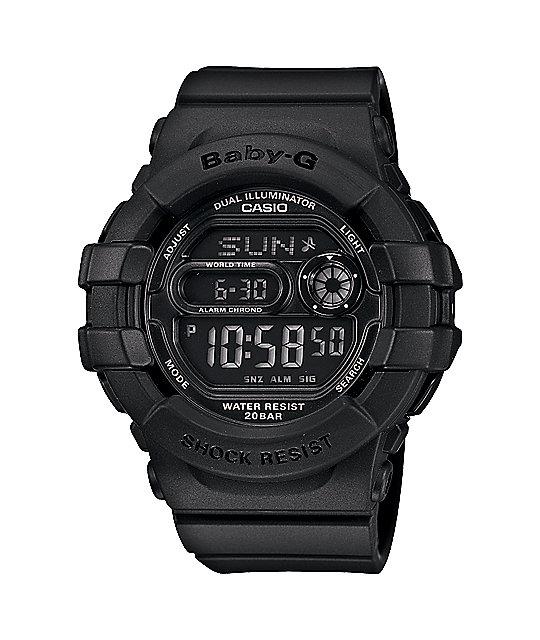 G-Shock BGD140-1A Baby-G 3D Black Watch
