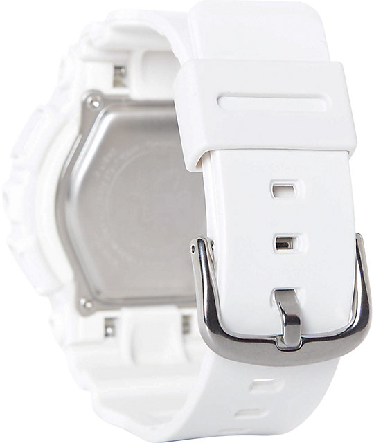 G-Shock Baby-G BA110GA-7A1 Gold Accent White Watch