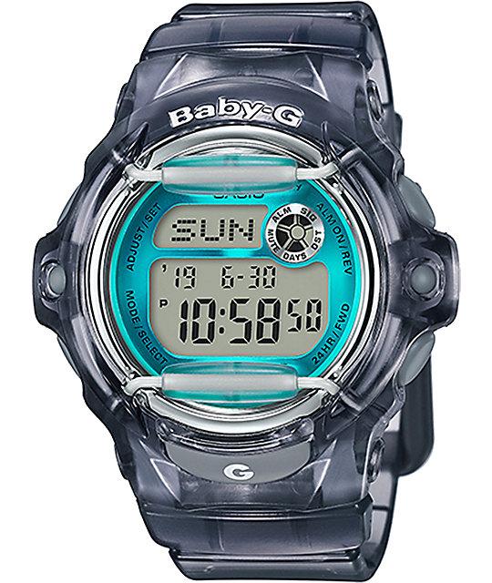 G-Shock Baby-G BG169R-8B Grey & Teal Watch