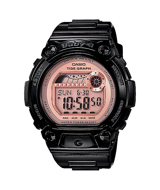 G-Shock Baby-G BLX100-1E Black & Pink Watch