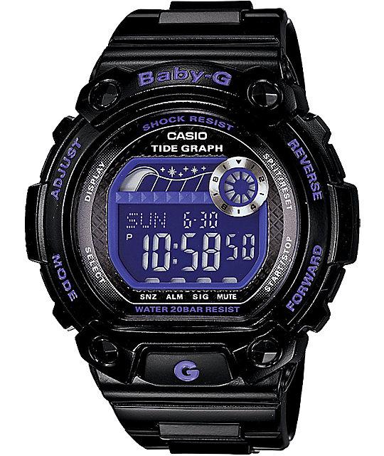 G-Shock Baby-G BLX100 Neon G-Lide Black Watch