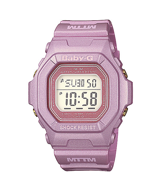 G-Shock Baby-G x Married To The Mob Pink Watch