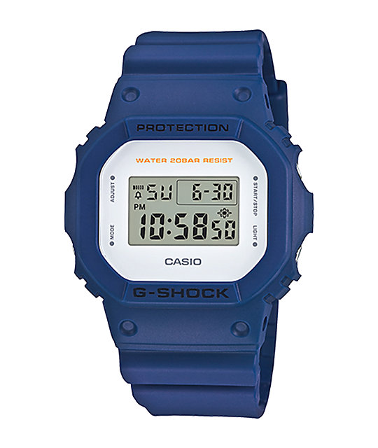 G-Shock DW5600M-2 Military Blue Digital Watch