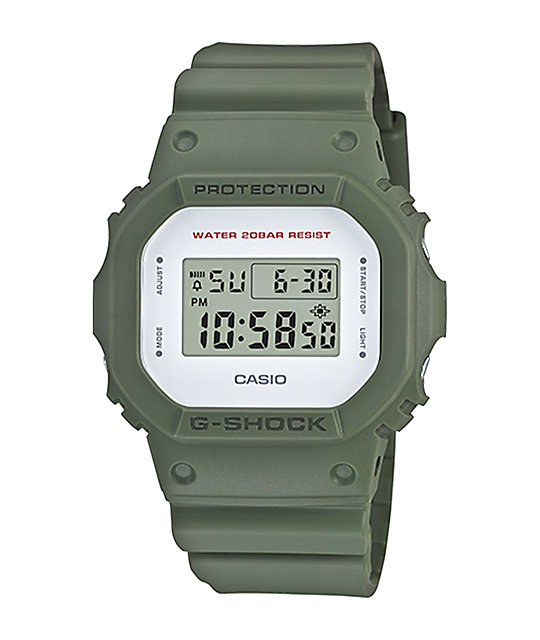 G-Shock DW5600M-2 Military Green Digital Watch