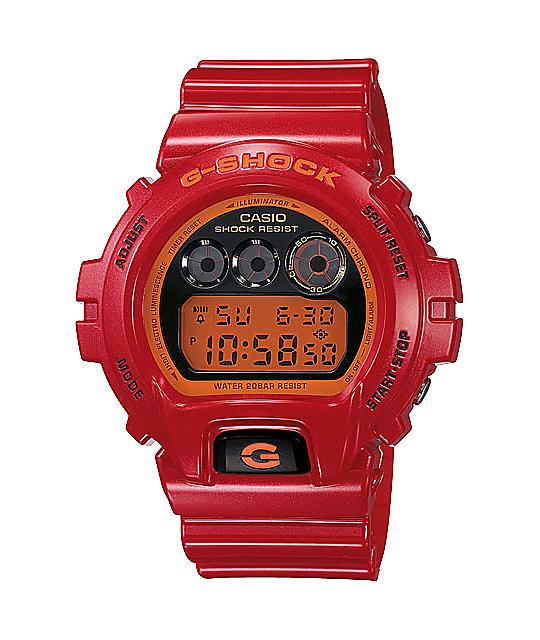 G-Shock DW6900CB-4CR G-Lide Red Digital Watch