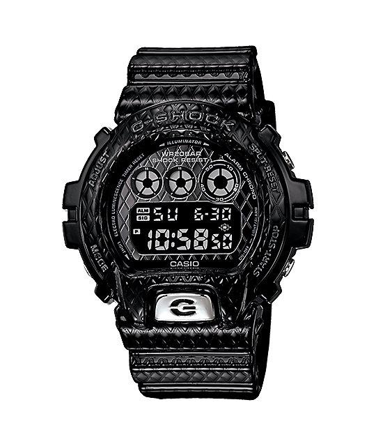 G-Shock DW6900DS-1CR Crosshatch Black Watch