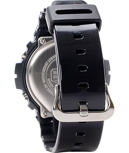 G-Shock DW6900MF-1 Metallic Finish Black Watch