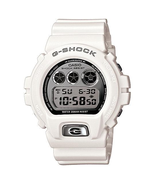 G-Shock DW6900MR-7 Classic White Watch