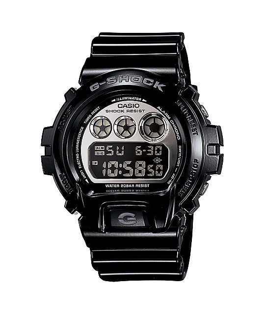 G-Shock DW6900NB-1 LTD Metallic Black Watch