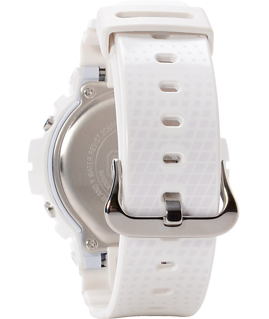 G-Shock DW6900NB-7 LTD Classic Metallic White Watch
