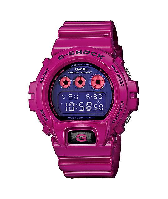 G-Shock DW6900PL-4 Polarized Magenta Watch