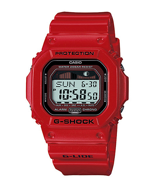 G-Shock G-Lide GLX5600-4CR Red Watch
