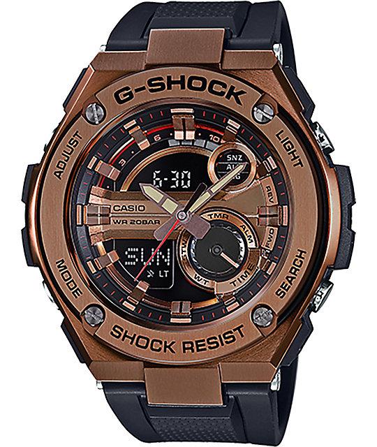 G-Shock G Steel GST-210B-4A Rose Gold Watch at Zumiez : PDP