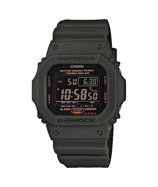 G-Shock G5600KG-3 G-Foce Olive Green Watch
