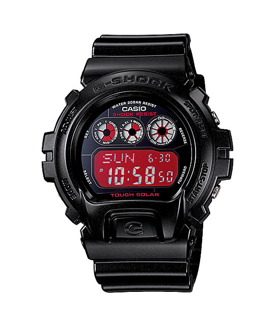 G-Shock G6900CC-1 Metallic Black Solar Ltd Edition Digital Watch