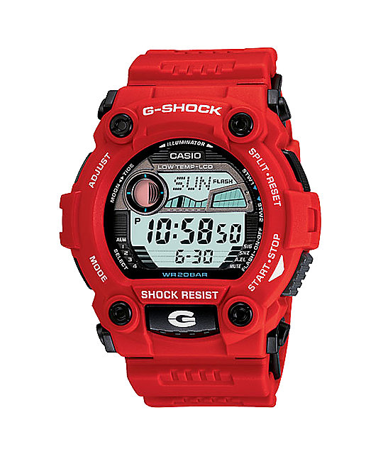 G-Shock G7900A-4 G-Rescue Red Watch