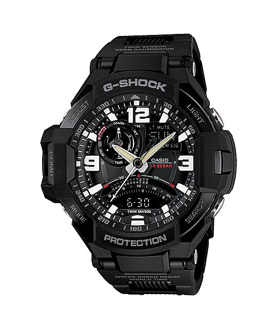 G-Shock GA-1000FC-1A G-Aviation Fine Comp Black Watch